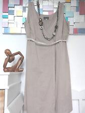 """Noa Noa Sommer-Wickel-Kleid """"Changing Voile"""" Gr. XL Beige/Sand, Spitzenbordüre"""