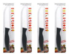 Küchenmesser Kochmesser Brozeitmesser Messer mit Keramikklinge 4 Stück Set