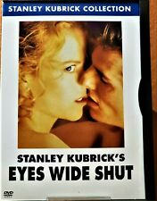 New listing Eyes Wide Shut Dvd 1999 Cruise Kidman Kubrick Movie in Snapper Case Like New