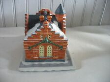 Hawthorne Porchlight The Town Office s 79844 Christmas Village Ceramic House
