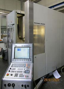 5-Achsen simultan Bearbeitungszentrum Deckel-Maho DMG DMU 50eVo linear CNC Fräse