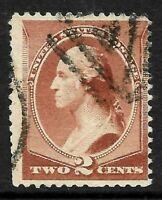 "Fancy Cancel ""Triangle GE-22?"" SON 2 Cent #210 Washington Banknote 1883 US 36B15"