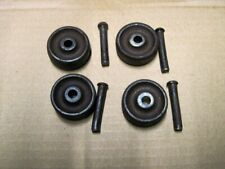 "New ListingVintage Early Singer Treadle Sewing Machine Cast Iron Wheels 1/2"" Wide Set of 4"
