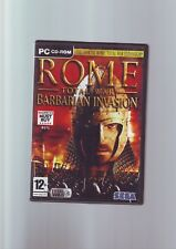 ROME TOTAL WAR : BARBARIAN INVASION EXPANSION PACK - PC GAME ORIGINAL & COMPLETE