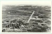 Coulee Dam Wa RPPC Vintage Postcard Proposed Site Washington Real Photo