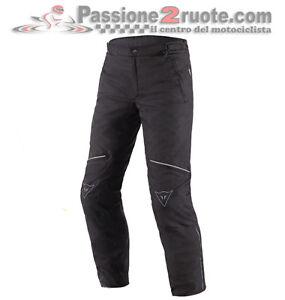 Pants Dainese Galvestone D2 Goretex Black Motorcycle Trouser Pants Trousers