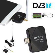 DVB-T2 USB Dongle Digital HD Pad TV Tuner Receiver +Antenna For Android Phone