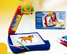 Educational Projector Painting Toy Game Set With LED Light Kids Toys