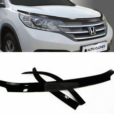 Black Hood Guard Stone guard Deflector Ventshade for HONDA 2012-2016 CR-V