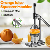 Stainless Steel Hand Manual Citrus Juicer Orange Lemon Manual Juice Squeezer US