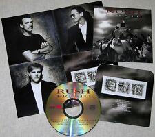 MINI LP CD VYNIL RÉPLICA + POSTER  RUSH / PRESTO