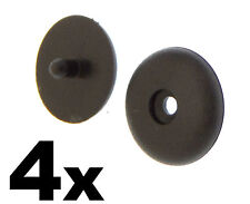 4x Mercedes Benz Seat Belt Buckle Buttons- Holders Studs Retainer Stopper Rest