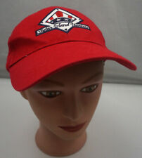 Staten Island Yankees Hat Red Stitched Adjustable Baseball Cap Pre-Owned ST194