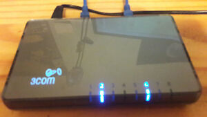Switch 3COM 8 ports