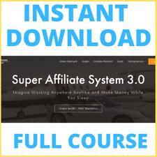 Super Affiliate System 3.0 - John Crestani FULL COURSE - FAST LINK - $997 VALUE