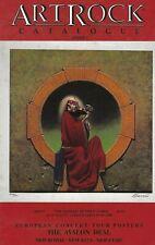ARTROCK GALLERY CATALOG #8 1990 CONCERT POSTERS AVALON  GRATEFUL DEAD STAN MOUSE