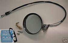 1965-68 Pontiac GTO / LeMans Remote Chrome Mirror