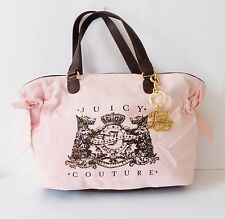 NWT Juicy Couture Scottie Bling  Bella Tote ~  #YHRU0352 ~ Pink