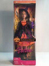 NEW MATTEL BARBIE DOLL Halloween Charm 2006 Witch Costume Purple Hat OrangeDress