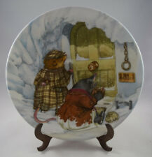 Wedgwood Collector Plate The Wild Wood Eric Kincaid Wind in the Willows series