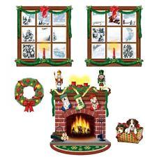 5PC INSTA THEME CUTE CHRISTMAS SCENE Xmas Indoor Scene Setter Decorations 20213