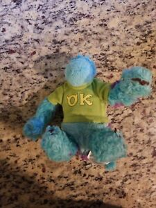 "Disney Pixar Monsters University Sulley Oozma Kappa Fraternity 9"" Bean Plush"