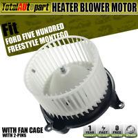 5F9Z19805DA Five Hundred Freestyle Montego New HVAC Blower Motor BM 9286C