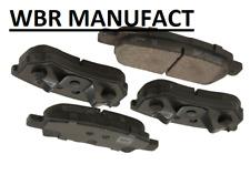 WBR Disc Brake Pad Set REAR
