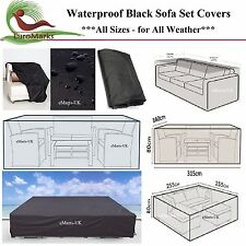 WATERPROOF SOFA SET COVER GARDEN OUTDOOR PATIO 2 12 SEATER CORNER SOFA COVER  NEW Part 53