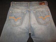 Diesel Jeans Quratt Relaxed Distressed Light Cotton & Linen 60Z  Sz 32 X 29 Nice