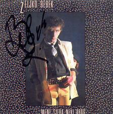 ZELJKO BEBEK CD Mene tjera neki vrag Original SIGNIERT potpis Bijelo Dugme Goran