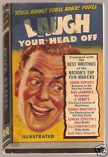 Vintage Paperback QUICK READER 105 1943 Laugh Head Off