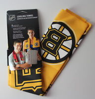 "Boston Bruins NHL 8"" x 30"" Cooling Towel NEW"
