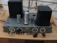 1960's Heathkit A-9 Tube Audio Amplifier twin 6L6