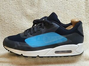 Nike Air Max 90 NS GPX Big Logo mens trainers Black/Blue/White UK 7 EUR 41 US 8