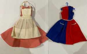 2 x Genuine Vintage Barbie Outfit