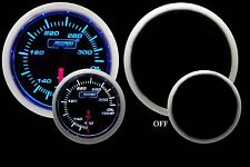 OIL TEMPERATURE Gauge Prosport Performance Series -Blue & White 52mm NEW