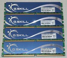 G.SKILL 8GB (4X2GB) PC2 6400 DDR2 800 NON-ECC DESKTOP MEMORY