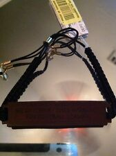 """Football Widow Leather Bracelet Nwt """"we Interrupt This Marriage For Football Sea"""
