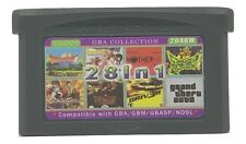 28 in 1 Multicart GBA Game Boy Advance w/ Case Mother 1+2 Summon Night Driver 3