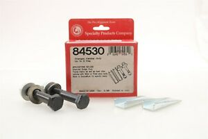 NEW SPC Alignment Camber Wedge Kit 84530 Chevy Dodge Ford Toyota 16/17mm Bolts