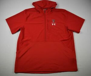 Texas Tech Red Raiders Under Armour Pullover Men's NEW 3XL