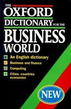 The Oxford Dictionary for the Business World-ExLibrary