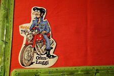Alter Aufkleber Jeans MARSHAL Ofen-Luggi
