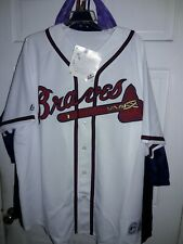 Jeff Francoeur Atlanta Braves MLB baseball Jersey ATL tomahawk shirt NEW - 2XL