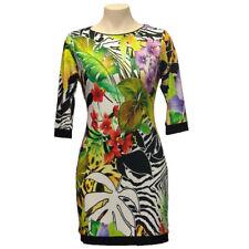 Joseph Ribkoff 151660 Women Multi Color 3/4 Sleeves Tunic/Dress Size 8 US NWT