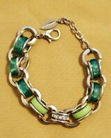 Coldwater Creek Bracelet Vivid Links Green