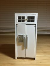 Dollhouse Refrigerator with Cabinet