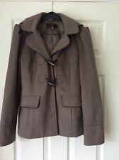 New Look - Mink Duffle Jacket with Hood - Size 10 - BNWOT