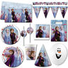 Disney Frozen 2 Movie Children's Birthday Plates Cups Balloons Party Supplies